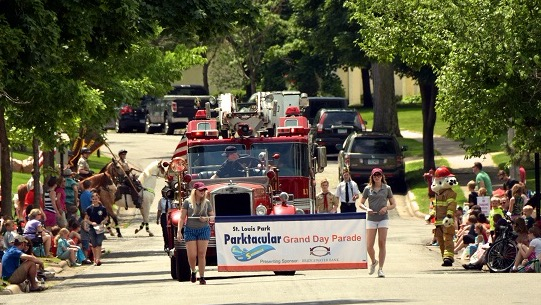 Parktacular Grand Day Parade